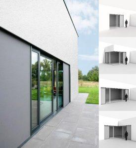 Renson Slidefix, una protección solar textil para ventanas