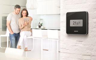 Uponor y sus nuevos termostatos para la regulaci n de - Uponor suelo radiante ...