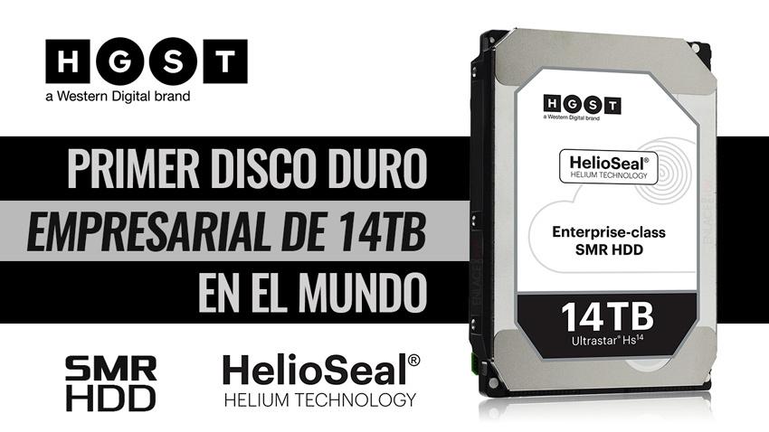 Western Digital lanza un disco duro HDD con 14 TB de
