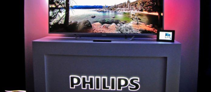 Compaia Philips presenta un televisoraltavoz inteligente para la