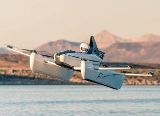 Flyer, el auto volador del cofundador de Google