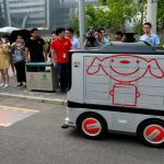 Los robots delivery ya funcionan en las calles de Beijing
