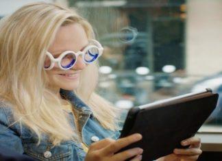 Estas gafas Seetroën evitan mareos cuando viajas en autos