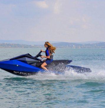 Conoce a Narke, la primera moto acuática eléctrica que no hace ruido
