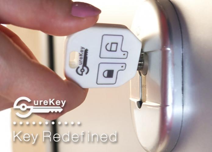 SureKey, el protector de puertas que te indica si las cerrado bien