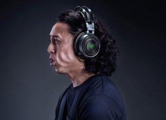 Presentan auriculares Razer Nari Ultimate que genera vibraciones