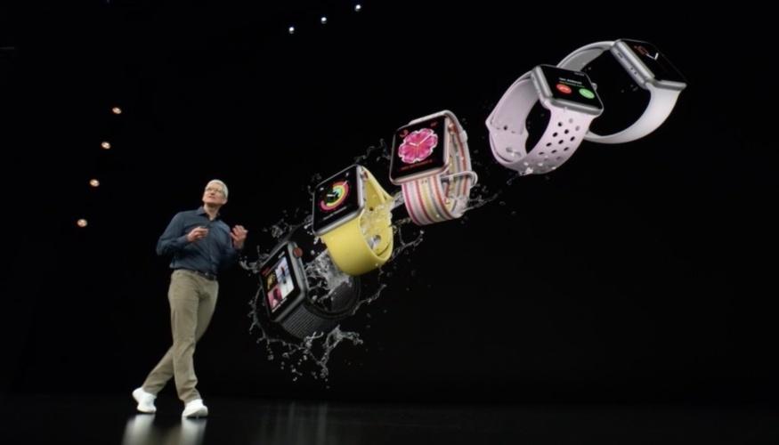 Presentan el nuevo Apple Watch Series 4 con monitor superior