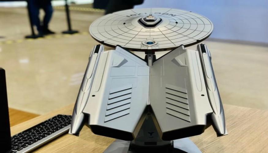 Lenovo presenta la Titanium NCC-1701A, ordenador inspirado en Star TrekLenovo presenta la Titanium NCC-1701A, ordenador inspirado en Star Trek