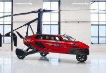 El primer coche volador, Pal V Liberty circulará en el 2020