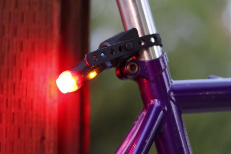 Las luces de bicicletas