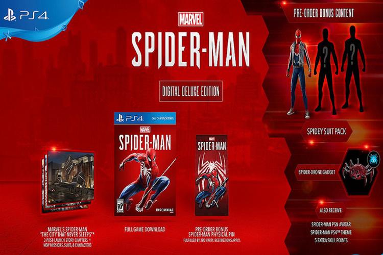 Spider-Man PS4 Collectors Edition
