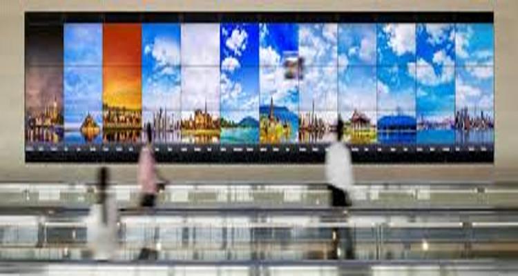 La colosal pantalla