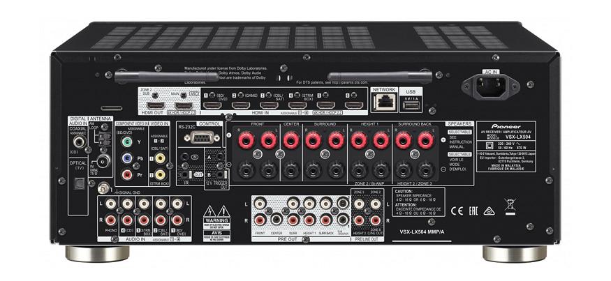 Pioneer estrena dos nuevos receptores AV