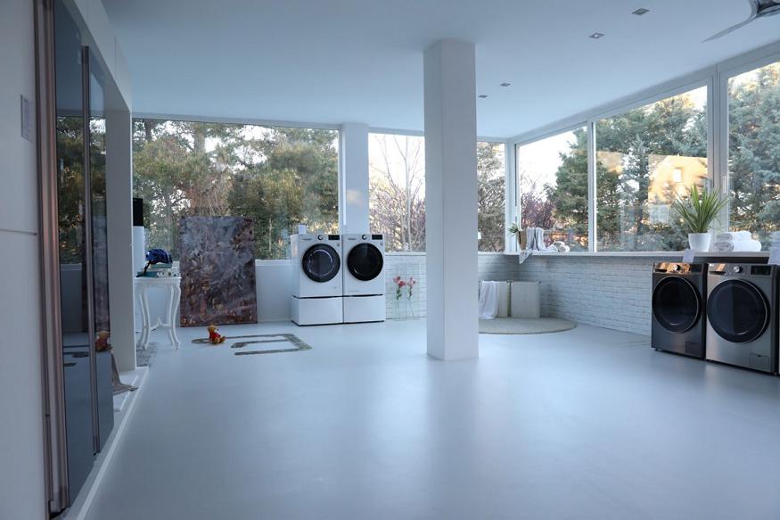 Lavadoras de LG con inteligencia artificial y tecnología TurboWash 360