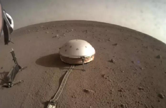 InSight registra por primera vez un ligero terremoto en Marte