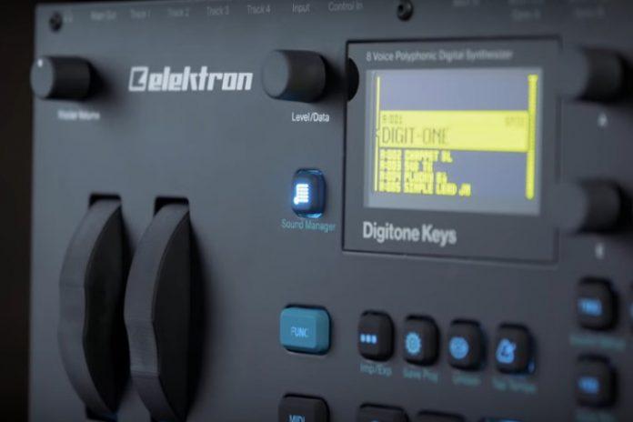 Digitone de Elektron
