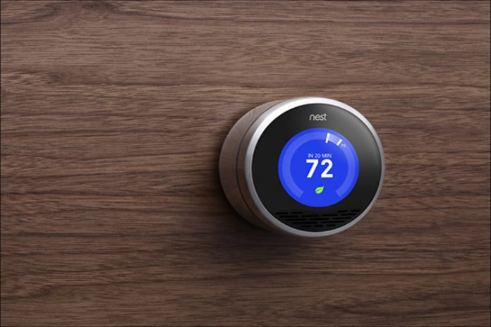 Termostato inteligente Nest:
