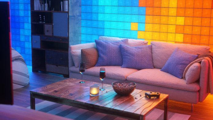 iluminación inteligente para interiores