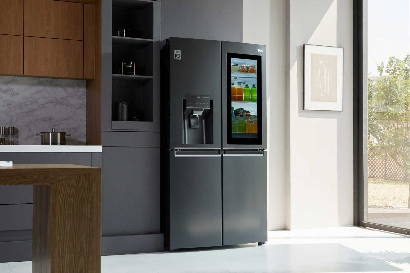 LG frigorifico inteligente InstaView