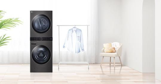 electrodomésticos inteligentes LG-WashTower