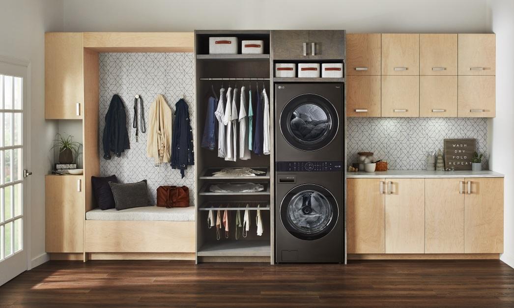 LG WashTower lavadora secadora inteligente