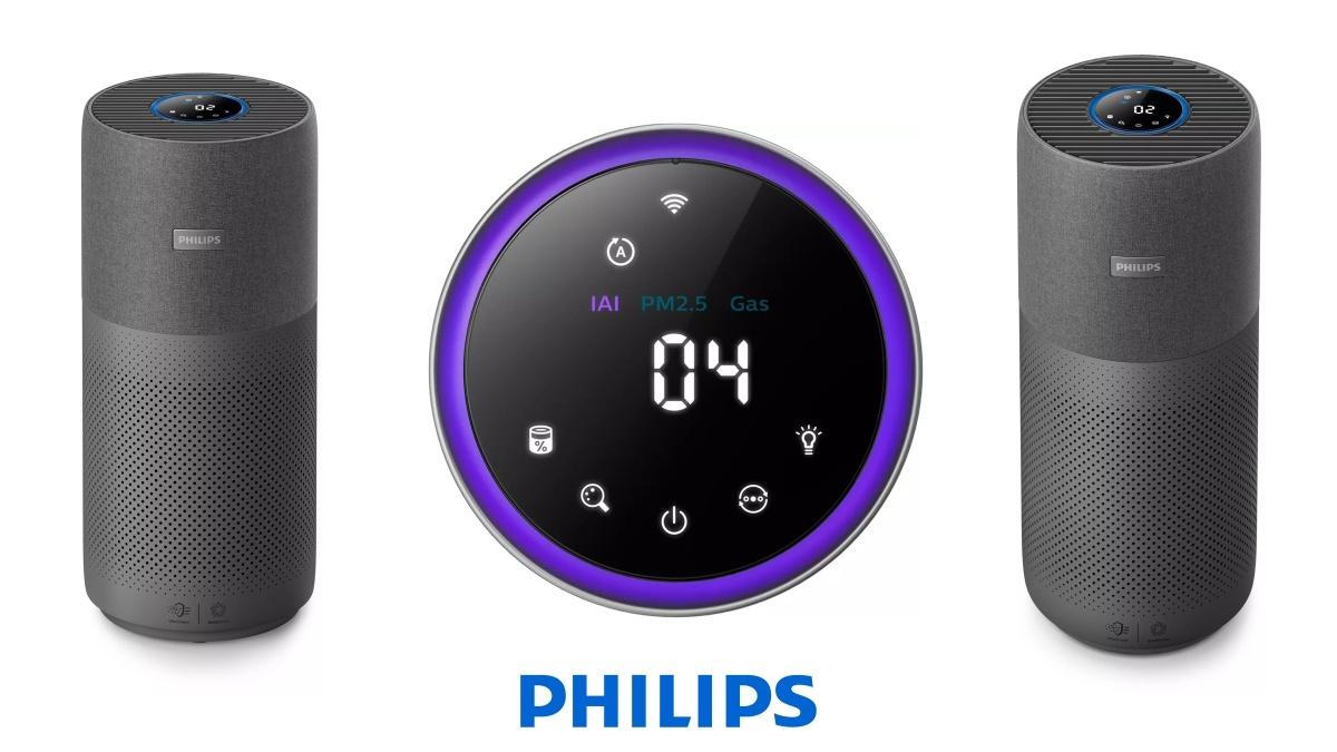 gadgets para mejorar la calidad del aire purificador de aire philips