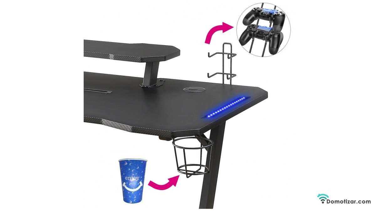 Woxter Stinger Gaming Desk Elite mesa adaptable